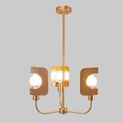 LED 직부등 샤키 3등 카페 매장조명_(2053311)