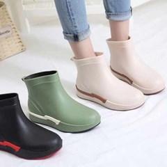 kami et muse Outsole point short rain boots_KM21s266