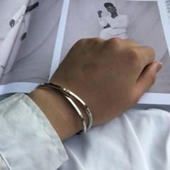 남자 뱅글 팔찌 실버 써지컬 스틸 past bracelet