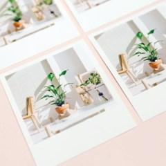 [제미포티] 폴라로이드형 엽서 _ Cafe