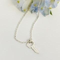 mini key necklace