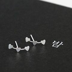 heart constellation earrings