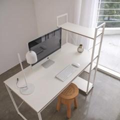 위더스 컴퓨터책상 1260 화이트에디션