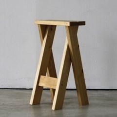 원목 스툴 의자 카페 인테리어 홈바 식탁 화장대