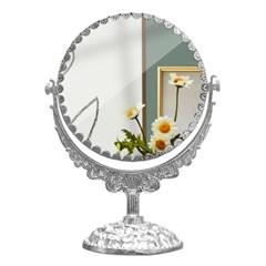 고급 인테리어 화장대 보조 양면 회전 거울 중형