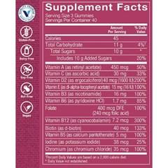 비타민샵 여성 멀티 비타민 영양제 과일믹스 120젤리