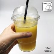 미르 PC컵 테이크아웃 540ml (SB 18온스) 카페 플라스틱 리유저블컵