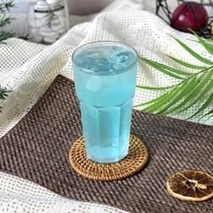 미르 PC컵 8각컵 360ml (12온스) 카페 음료 플라스틱 리유저블컵