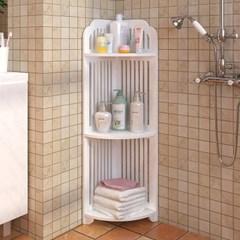 욕실 화장실 코너 틈새 선반 욕실장 수납장 정리대