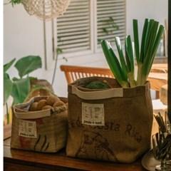 [파울로앤수니] 커피마대 Pantry box (팬트리박스)