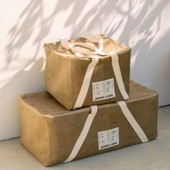 [파울로앤수니] 커피마대 Trunk box (트렁크박스)