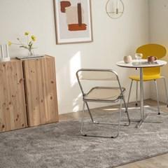 벨기에 AW 글로스 수입 카페트 거실 러그(다크모카그레이240x330)