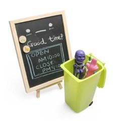 데스크 쓰레기통 휴지통 다용도 연필 꽂이 정리함