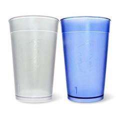 미르 PC컵 음료수컵 450ml (PC160NT) 퍼피 강아지 다회용 리유저블컵