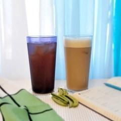 미르 PC컵 물컵 450ml (160DC) 카페 음료 플라스틱 리유저블컵