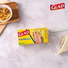 [글래드] 플렉스앤씰 소형 샌드위치백 (100매)_(717816)