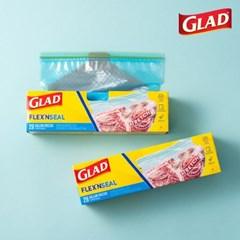 [글래드] 플렉스앤씰 냉동 대형(28매) 2개세트_(717812)
