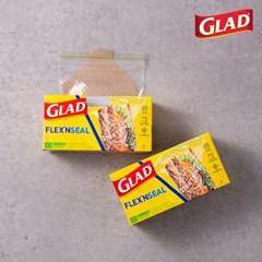 [글래드] 플렉스앤씰 소형 샌드위치백 (100매)2개세트_(717811)
