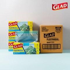 [글래드] 플렉스앤씰 냉동 중형(35매) 4개세트_(717808)