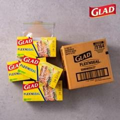 [글래드] 플렉스앤씰 소형 샌드위치백 (100매)4개세트_(717806)