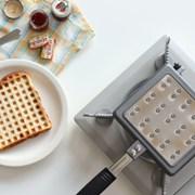 홈메이드 인덕션 와플팬 홈베이킹 카페 크로플