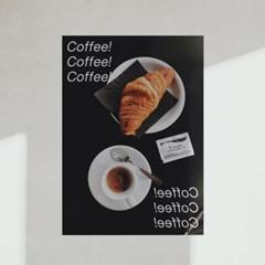 포토 포스터 / 인테리어 액자_ coffee! coffee! 01