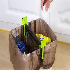 휴지통 쓰레기봉투 고정클립 쓰레기통 집게 고정핀 봉투홀더