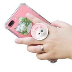 슈가캣 에어톡 스마트폰 그립 핸드폰거치대