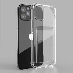 브이맥스 아이폰12 미니  프로 맥스 투명 젤리 카드 케이스