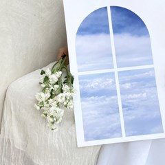 cloud window poster (구름 창문 포스터)