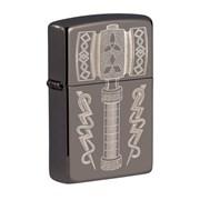 ZIPPO 라이터 49404 Thors Hammer Design_(2785373)