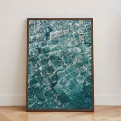 바위, 물, 햇빛 (5070 size) - Jitten 인테리어 포스터