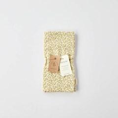 [모던하우스] L 한번 삶은 3겹 소창 살림덮개 노란잔꽃