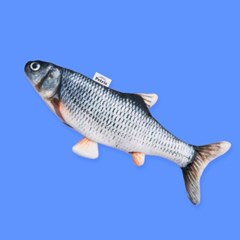 [페트리스] 움직이는 물고기 장난감 파닥파닥+리필커버세트