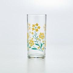 [모던하우스] L 노란봄꽃 유리잔 340ml