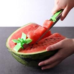 해방타운 윤혜진 수박칼 수박 커팅기 슬라이서 커터