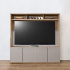 거실 TV 수납형 거실장 세트 (2colors)