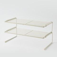 [한샘] 주방정리용품 SOK 마일드 2단 정리대 L 크림