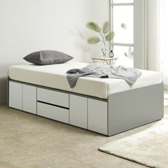 노뎀 높은 서랍중앙형 침대SS+독립 매트리스