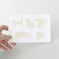 [찰리파파] 피터 고양이 엽서