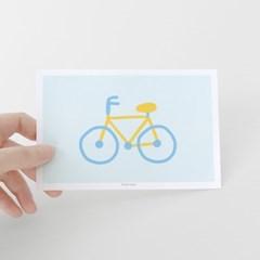 [찰리파파] 자전거 엽서