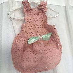 꽃송이 한가득 원피스 - 핑크