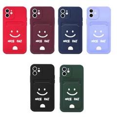 무료배송 나이스데이 카드포켓 파스텔 아이폰12 시리즈