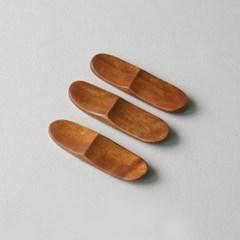 롬우드 로즈원목 나무 수저받침 동글_(1928743)