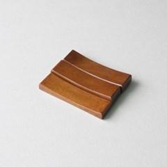 롬우드 로즈원목 나무 수저받침 베이직_(1928739)