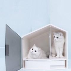 캣룸 고양이 화장실