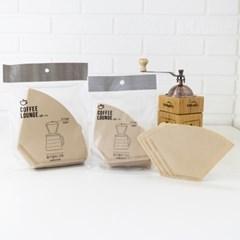 핸드드립 커피여과지 커피 천연필터 100매