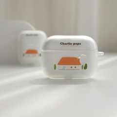 [찰리파파] 포근한 집 에어팟 케이스