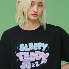 NEONMOON 21SM Sleepy Teddy Logo T
