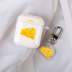치즈 에어팟케이스&키링